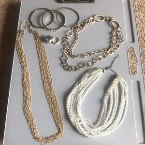 Premier Design & Lia Sophia necklaces rings brace